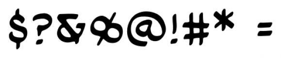Cloudsplitter UC BB Regular Font OTHER CHARS