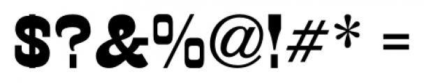 Cloverdale JNL Regular Font OTHER CHARS