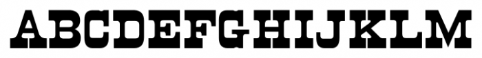 Cloverdale JNL Regular Font UPPERCASE