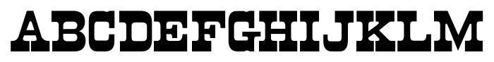 Cloverdale JNL Regular Font LOWERCASE