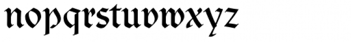 Clairvaux Font LOWERCASE