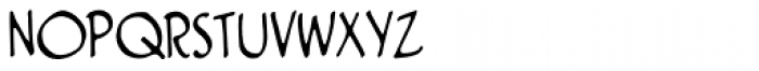 Clairvoyant BB Font UPPERCASE
