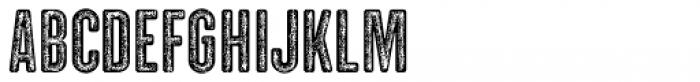 Clandestina Font UPPERCASE
