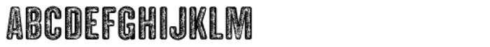 Clandestina Font LOWERCASE