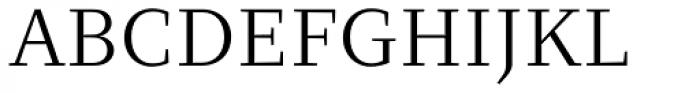 Clara Serif Book Font UPPERCASE