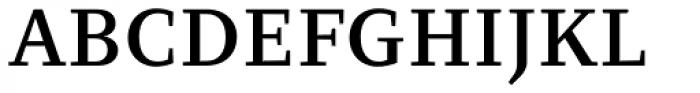 Clara Serif Medium Font UPPERCASE