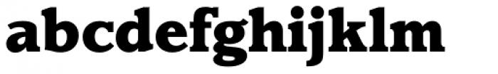 Claremont RR ExtraBold Font LOWERCASE