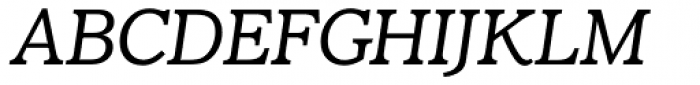 Claremont RR Light Italic Font UPPERCASE