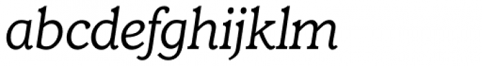 Claremont RR Light Italic Font LOWERCASE