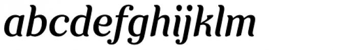 Clarence Italic Font LOWERCASE