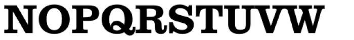 Clarendon BT Pro Bold Font UPPERCASE