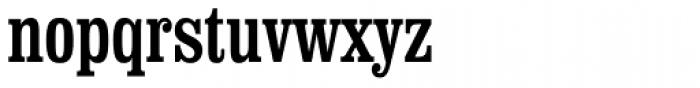 Clarendon Condensed Font LOWERCASE