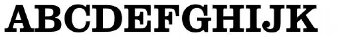 Clarendon Heavy Font UPPERCASE