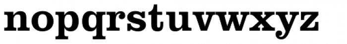 Clarendon Heavy Font LOWERCASE