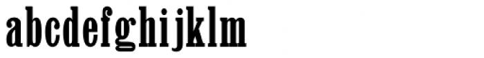 Clarendon Jordan Font LOWERCASE
