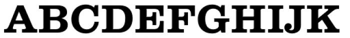 Clarendon LT Std Bold Font UPPERCASE