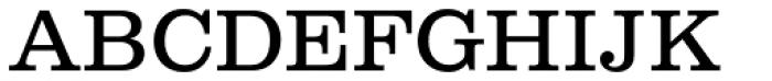 Clarendon No 1 URW Light Font UPPERCASE