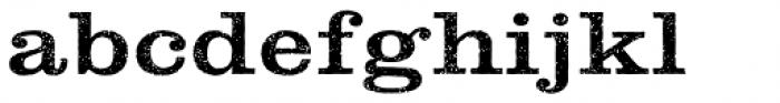 Clarendon Rough Font LOWERCASE