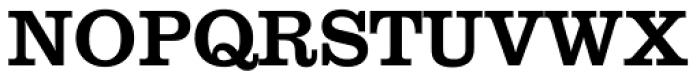Clarendon SB Regular Font UPPERCASE