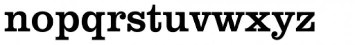 Clarendon SB Regular Font LOWERCASE