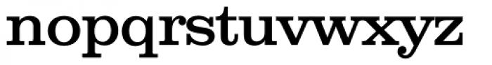 Clarendon Serial Font LOWERCASE