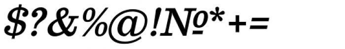 Clarendon Text Italic SCOsF Font OTHER CHARS