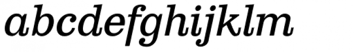 Clarendon Text Italic TF Font LOWERCASE