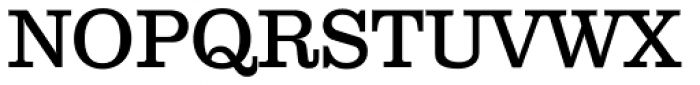 Clarendon Text Font UPPERCASE