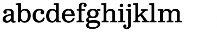 Clarendon Text Font LOWERCASE