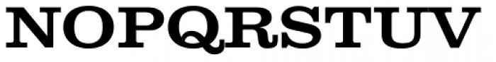Clarendon Wide Medium Font UPPERCASE
