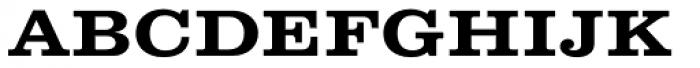 Clarendon Wide SC Medium Font LOWERCASE