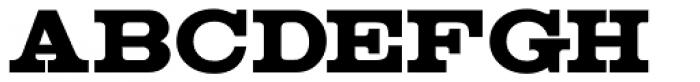 Clarenwood JNL Font UPPERCASE