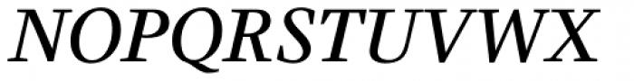 Claridge Italic Font UPPERCASE