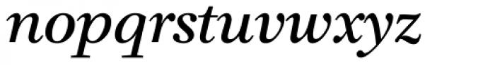 Claridge Italic Font LOWERCASE