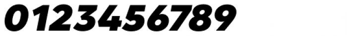 Clarika Geometric Black Italic Font OTHER CHARS