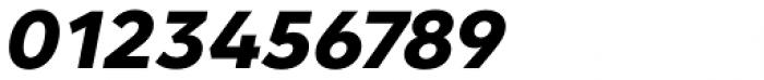 Clarika Geometric ExtraBold Italic Font OTHER CHARS
