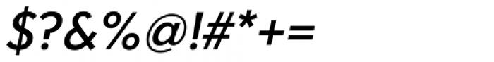 Clarika Geometric Medium Italic Font OTHER CHARS