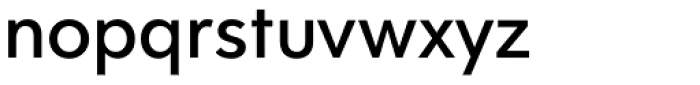 Clarika Geometric Medium Font LOWERCASE