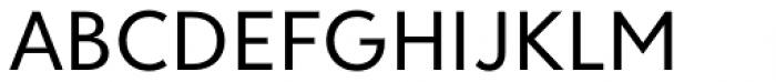 Clarika Geometric Regular Font UPPERCASE