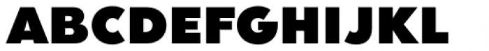 Clarika Geometric UltraBlack Font UPPERCASE