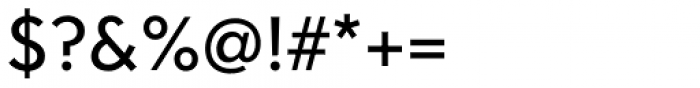 Clarika Office Geometric 3 Regular Font OTHER CHARS