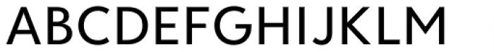 Clarika Pro Geometric Medium Font UPPERCASE