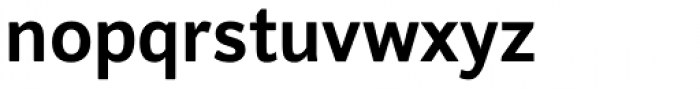 Clarina Sans Bold Font LOWERCASE