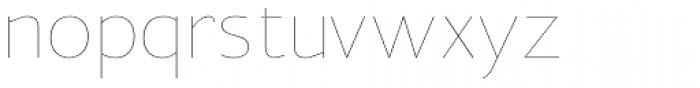 Clark Hairline Font LOWERCASE