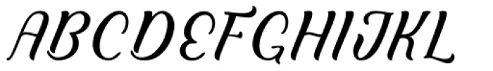 Clarkson Script Font UPPERCASE