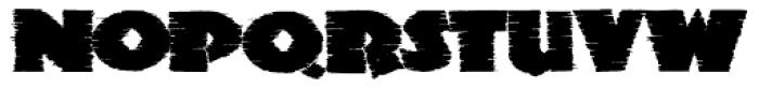 Clarvoyant Font UPPERCASE