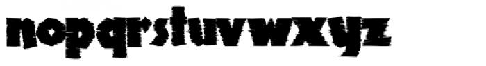 Clarvoyant Font LOWERCASE