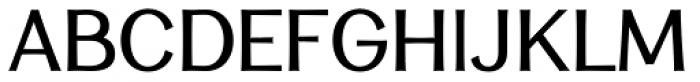 Clasica Sans Regular Font UPPERCASE