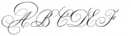 Classic Alt Caps Font UPPERCASE