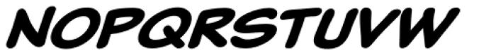 Classic Comic Bold Italic Font UPPERCASE